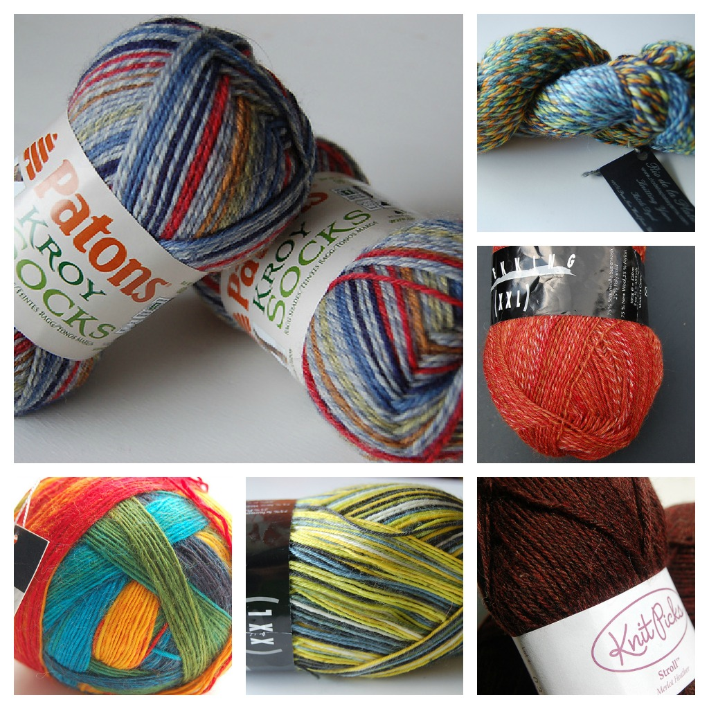 Sock-Yarn-Collage